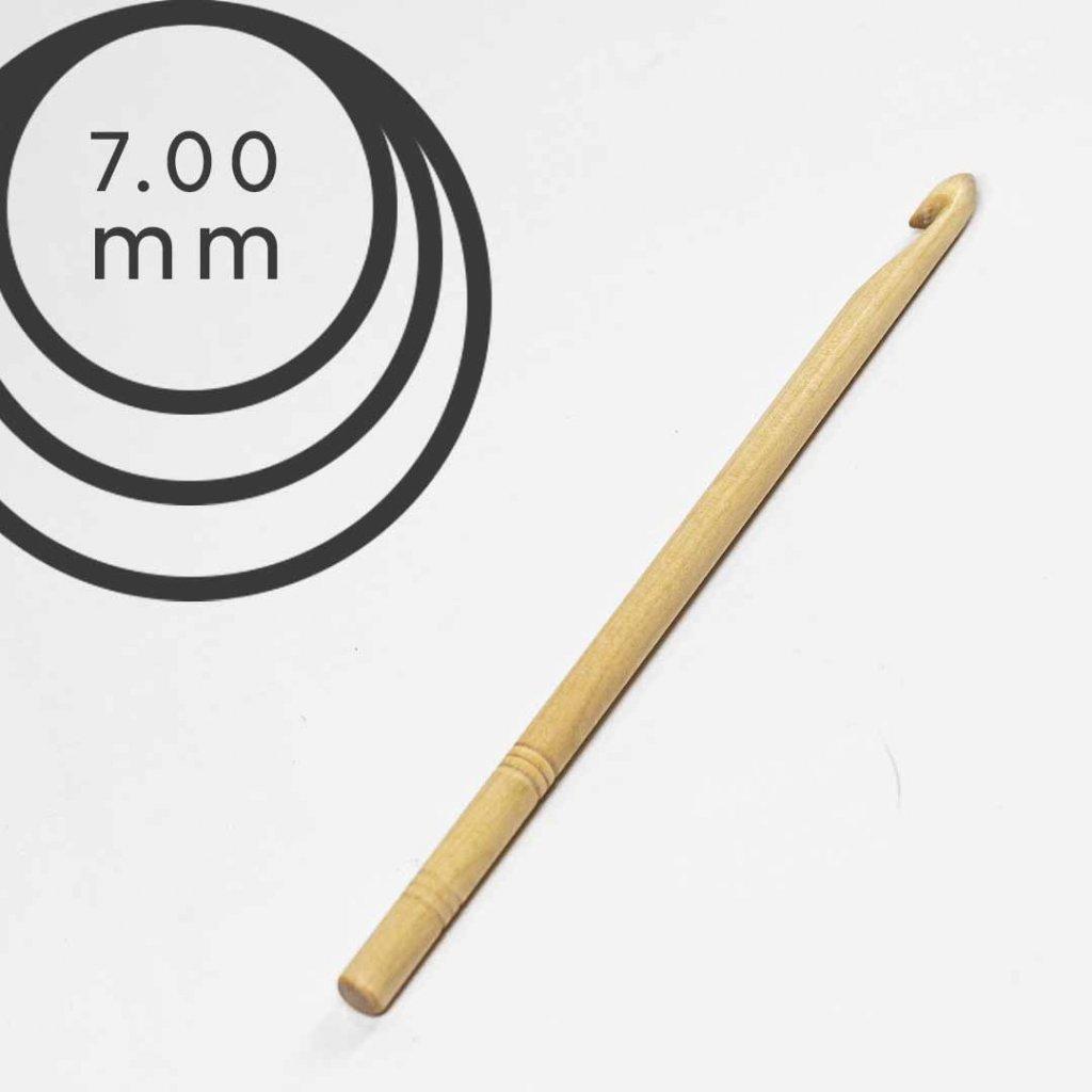 Háček Drops 7,0 mm dřevěný
