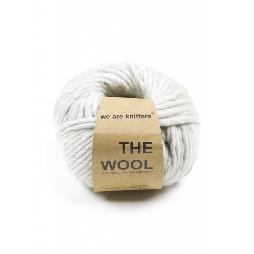 wool yarn balls spotted grey 1