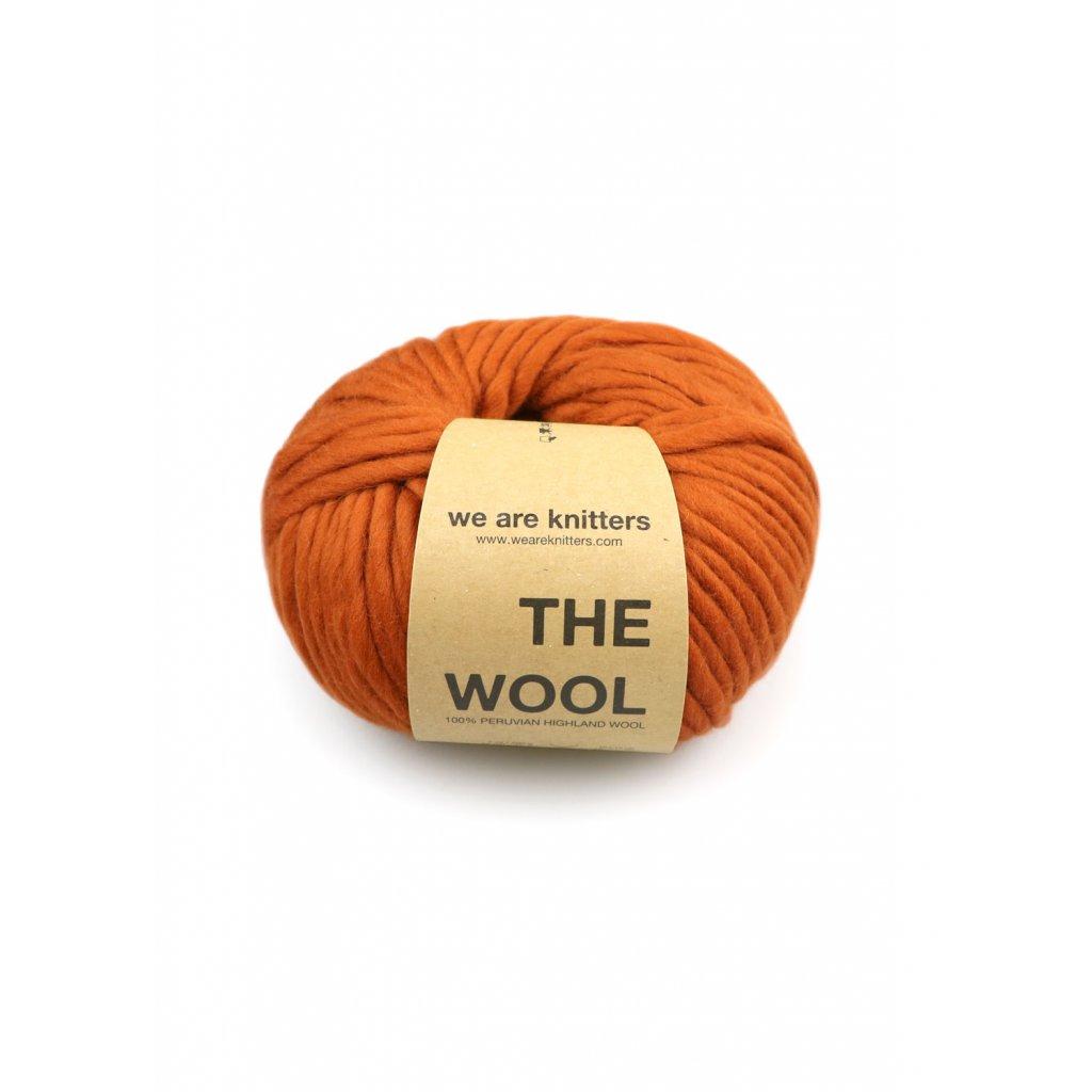 skeins knit wool cinnamon EN 01