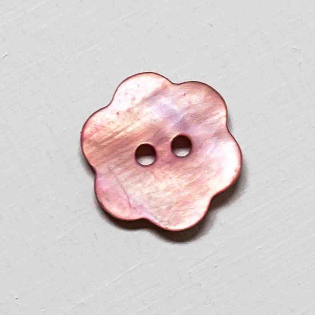Knoflík Drops 615 - kytička 15 mm