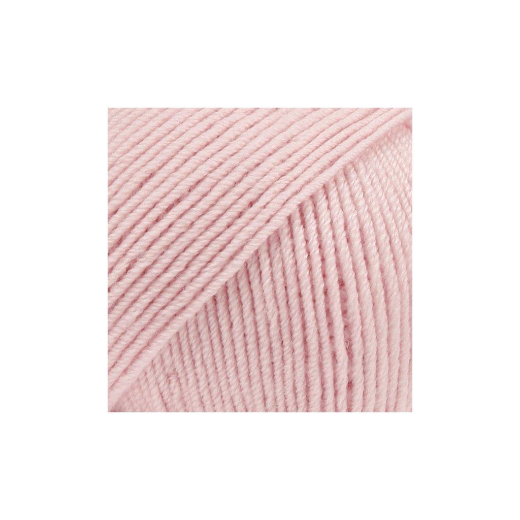 Drops Baby Merino 54 - pudrová růžová