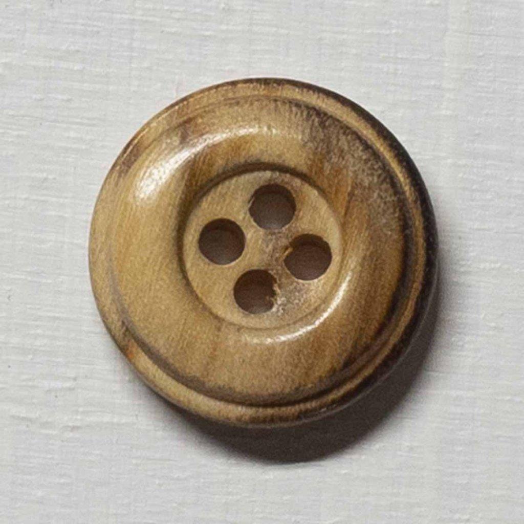 Knoflík Drops 513 - cedr 15 mm