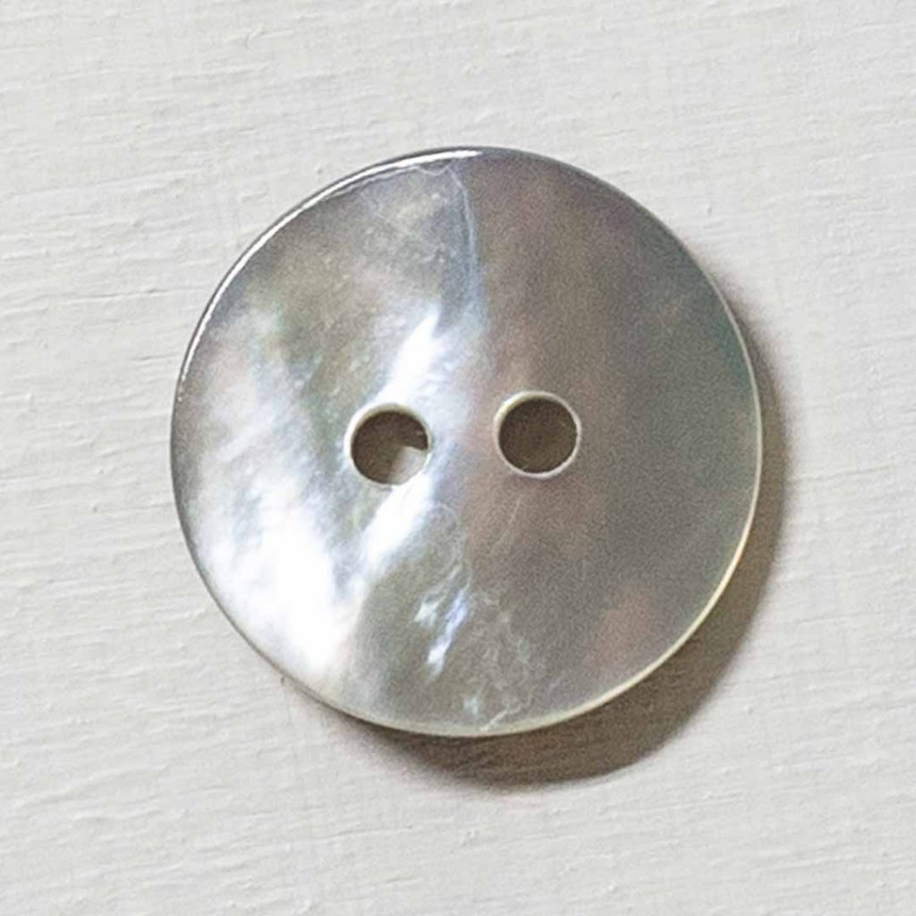 Knoflík Drops 521 - perleťový 15 mm