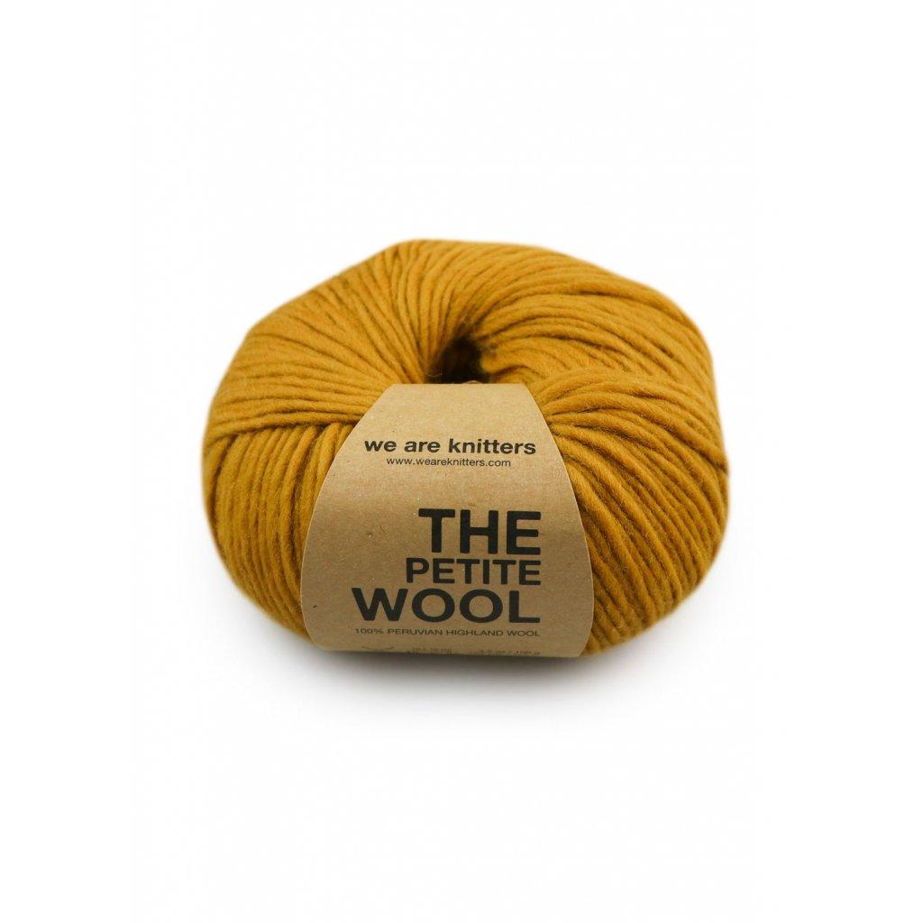 skeins knitting petite wool ochre EN 01