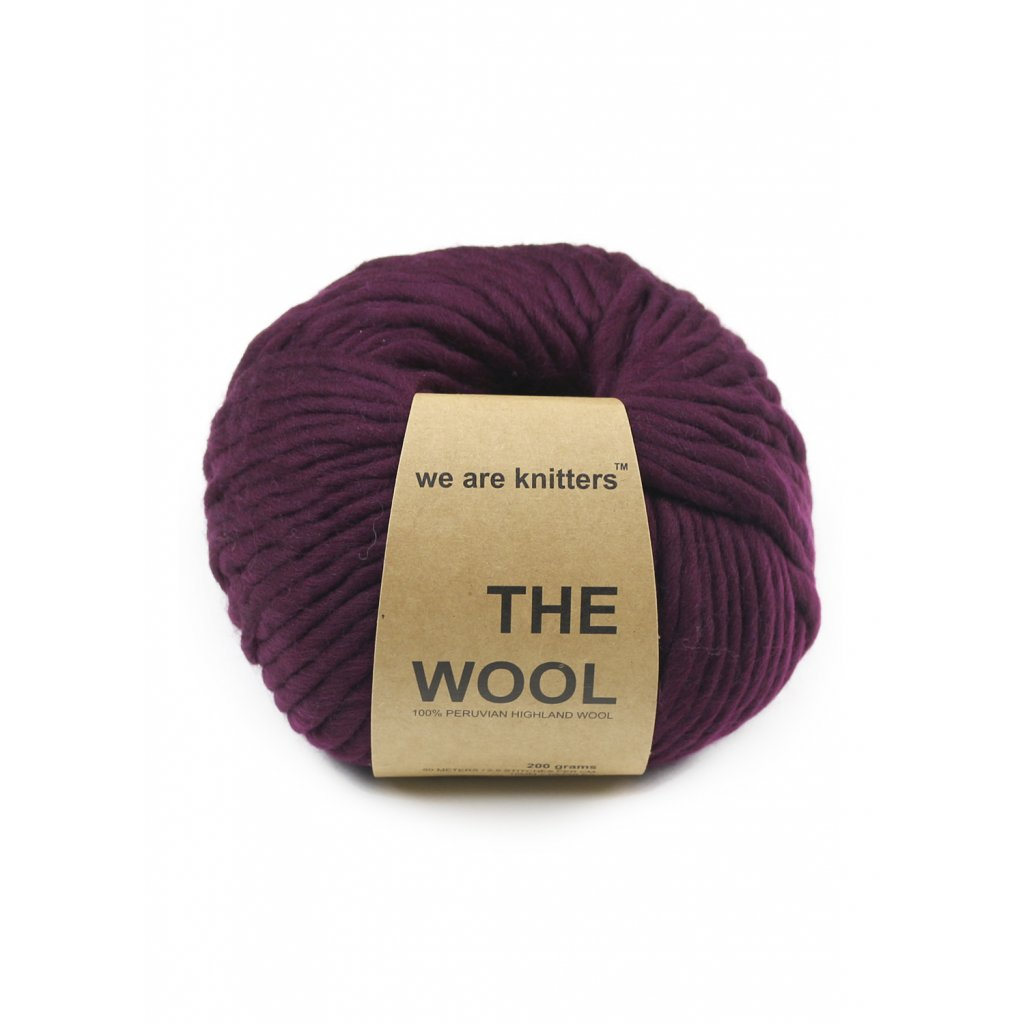 wool yarn balls bordeaux 1