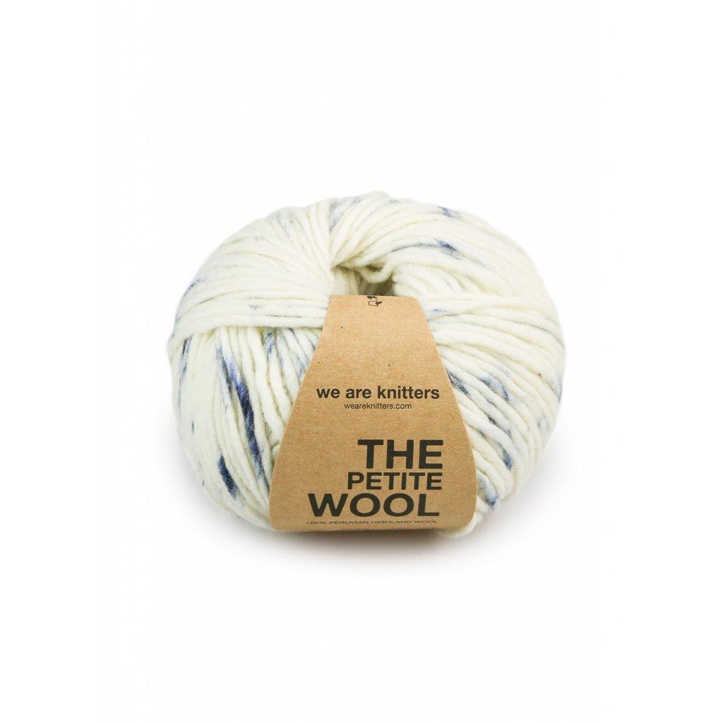 knitting skeins petite wool spotted denim 01