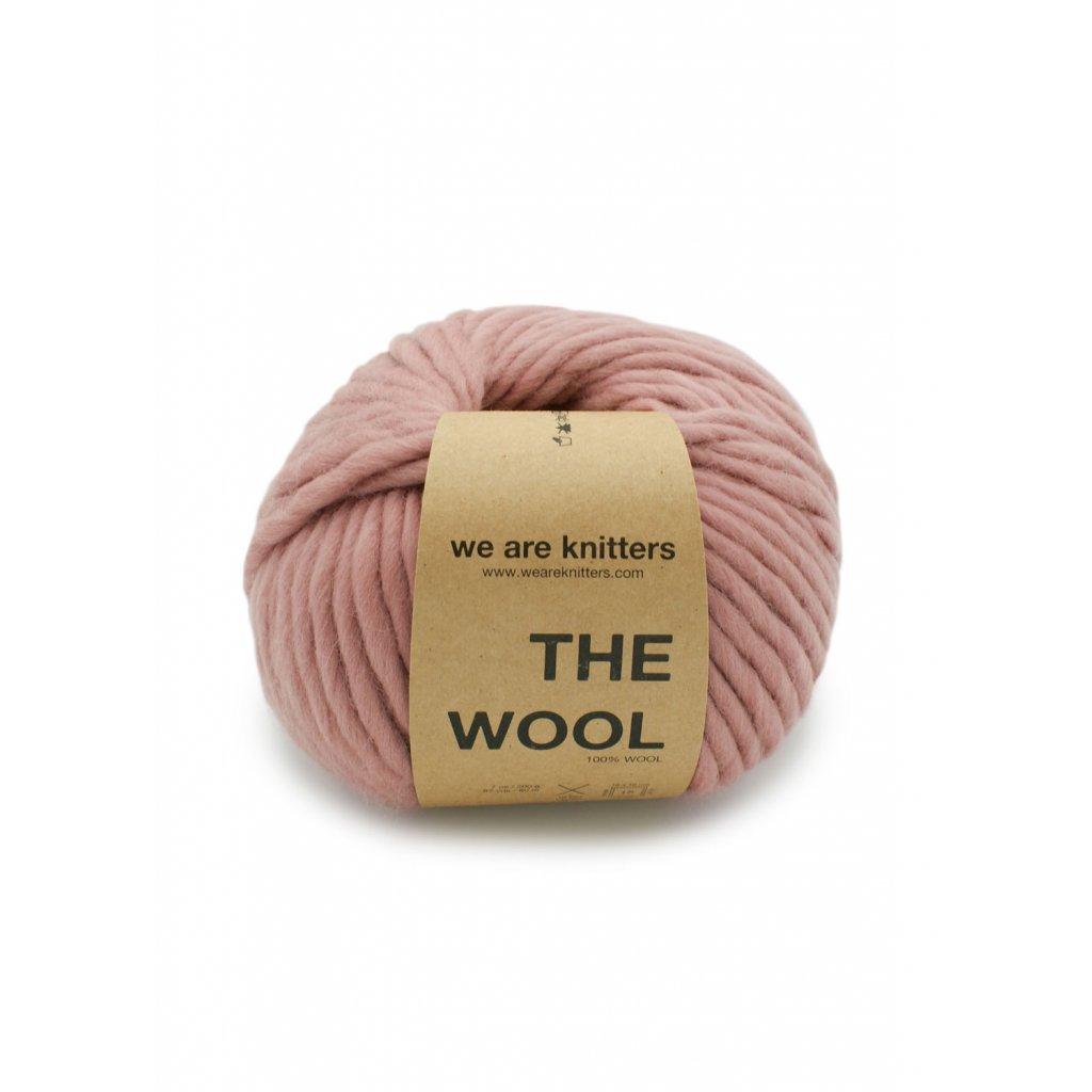 skein wool knitting dusty pink en 01
