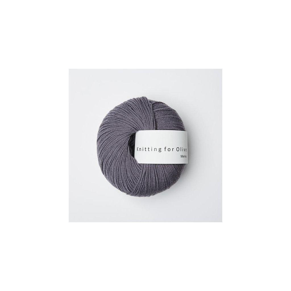 Knitting for Olive Merino - Dusty violette