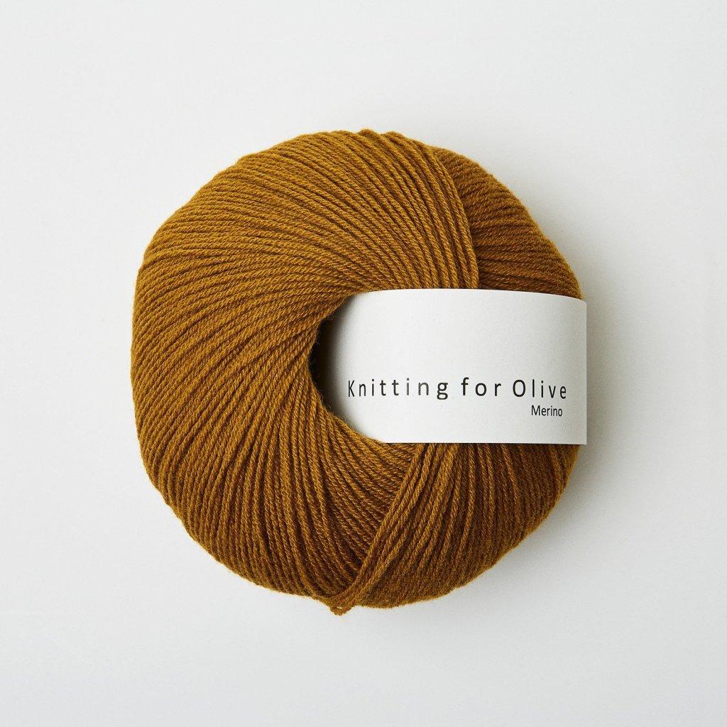 Knitting for Olive Merino - Dark Ocher