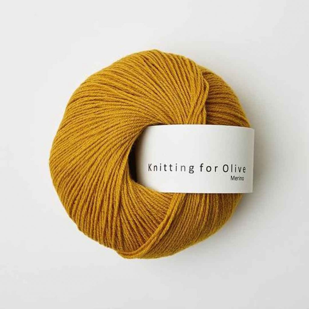 Knitting for Olive Merino - Mustard