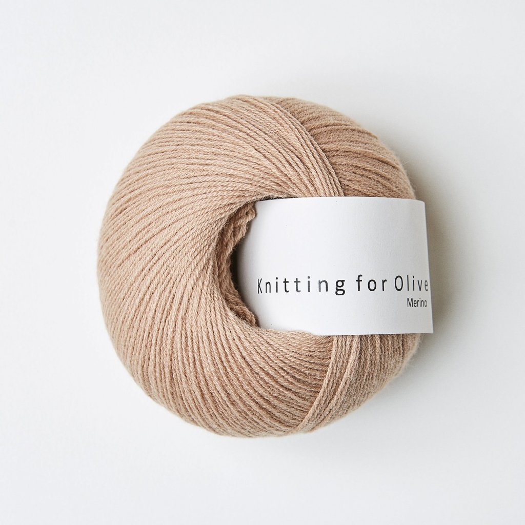 Knitting for Olive Merino - Camel Rose