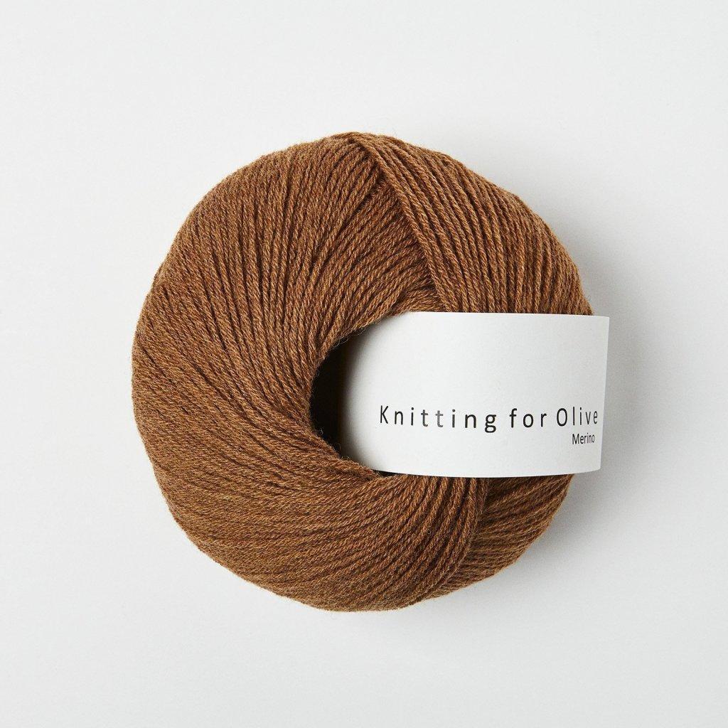 Knitting for Olive Merino - Soft Cognac