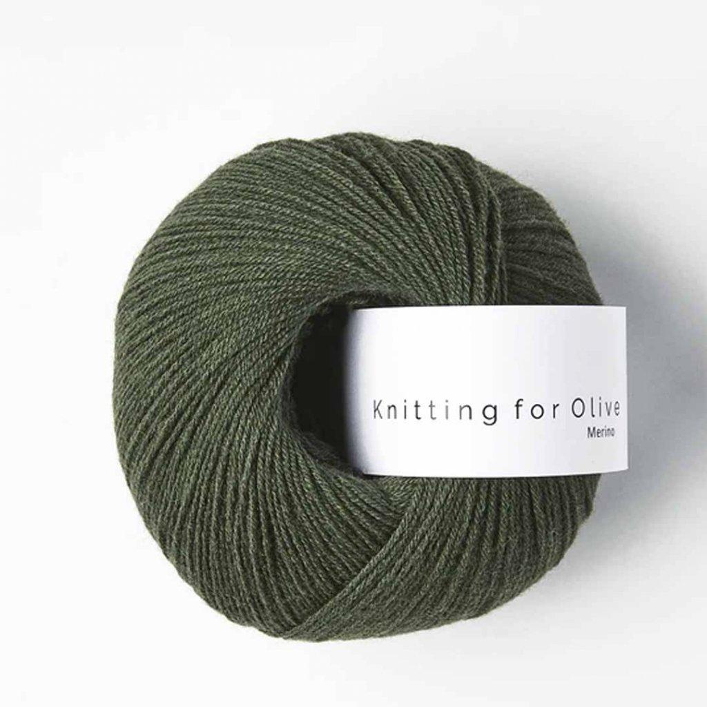 Knitting for Olive Merino - Bottle Green