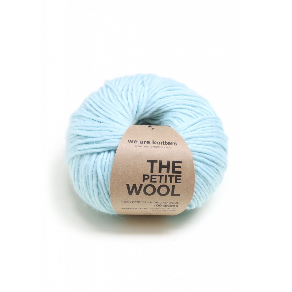 EN petite wool yarn balls knitting aquamarine 1 WAK PET 2201 0