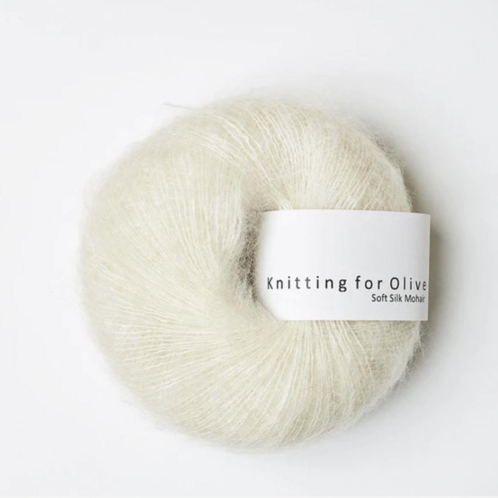 Knitting for Olive Soft Silk Mohair - Off-white