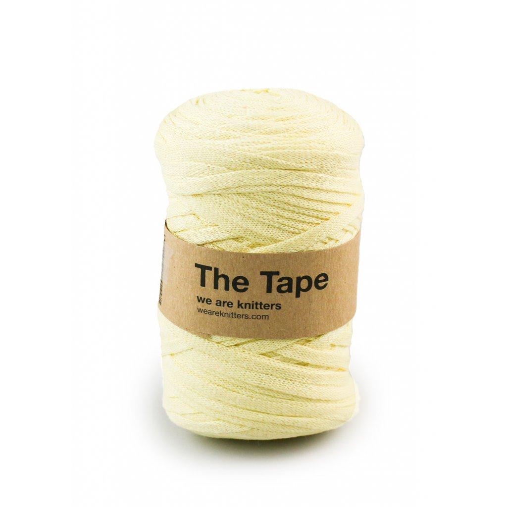 skein knitting tape Light Yellow EN 01