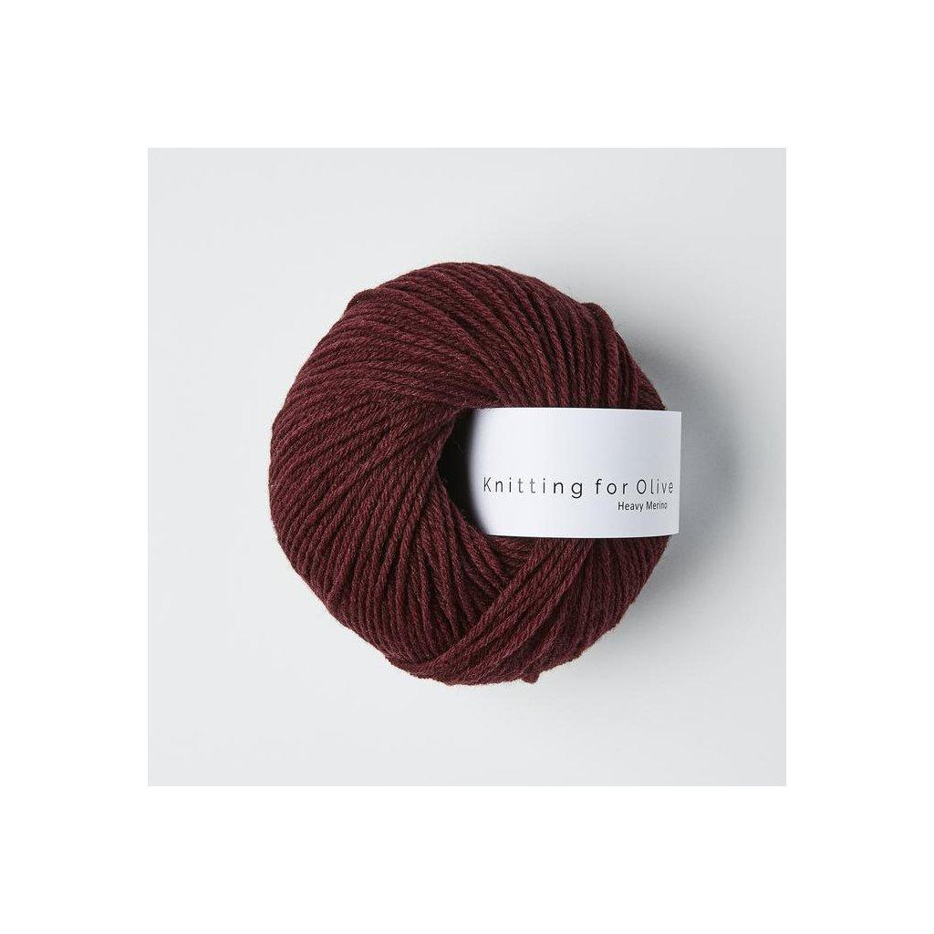 Knitting for olive heavymerino bordeaux 5089 700x