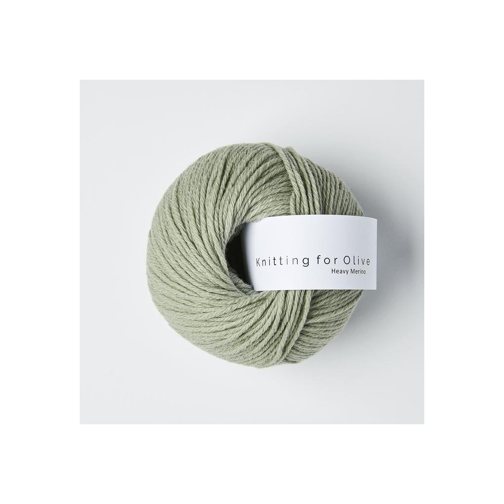 Knitting for Olive Heavy Merino - Dusty Artichoke