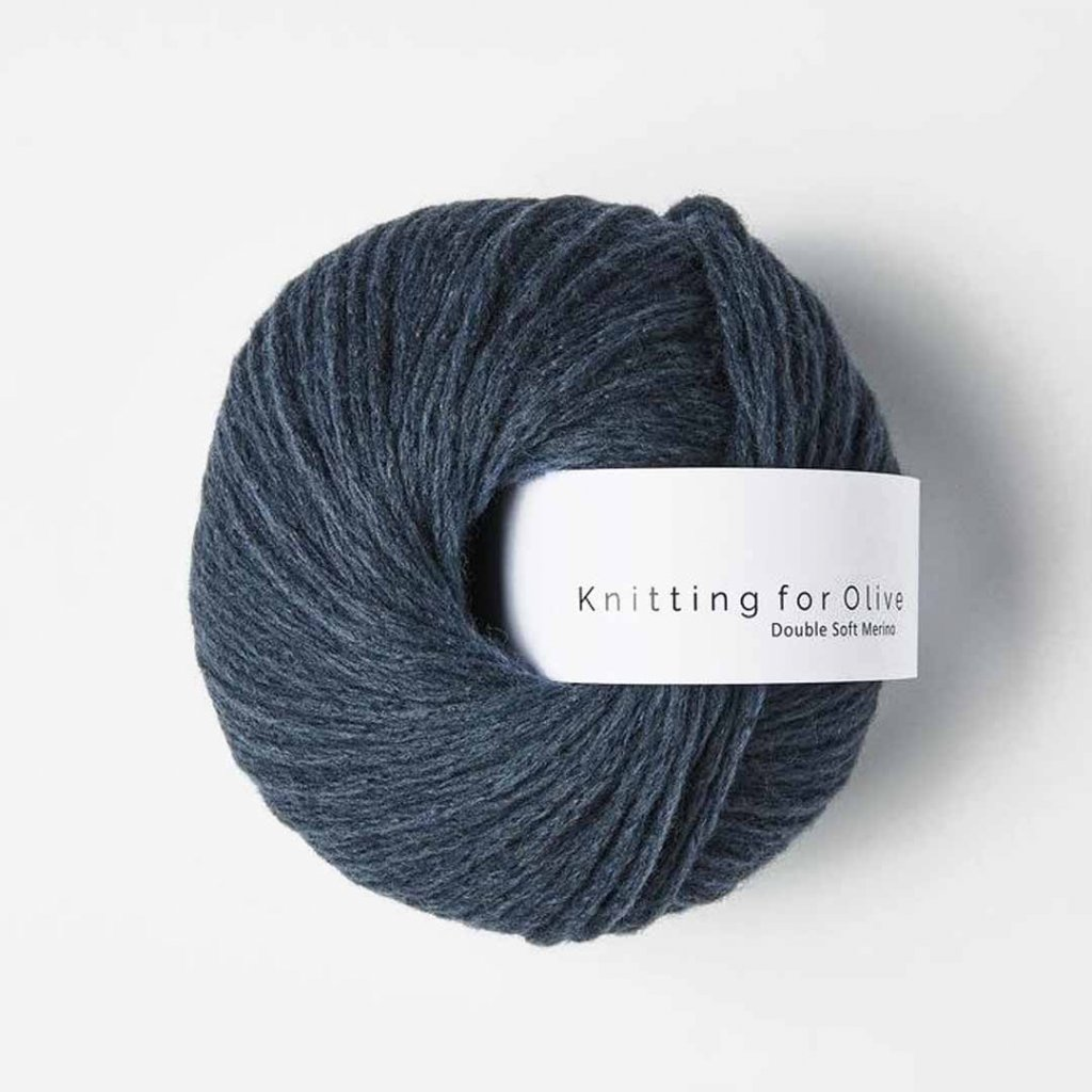 Knitting for Olive Double Soft Merino - Deep Petroleum Blue