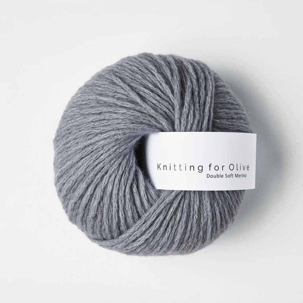 Knitting for Olive Double Soft Merino - Dusty Petroleum Blue