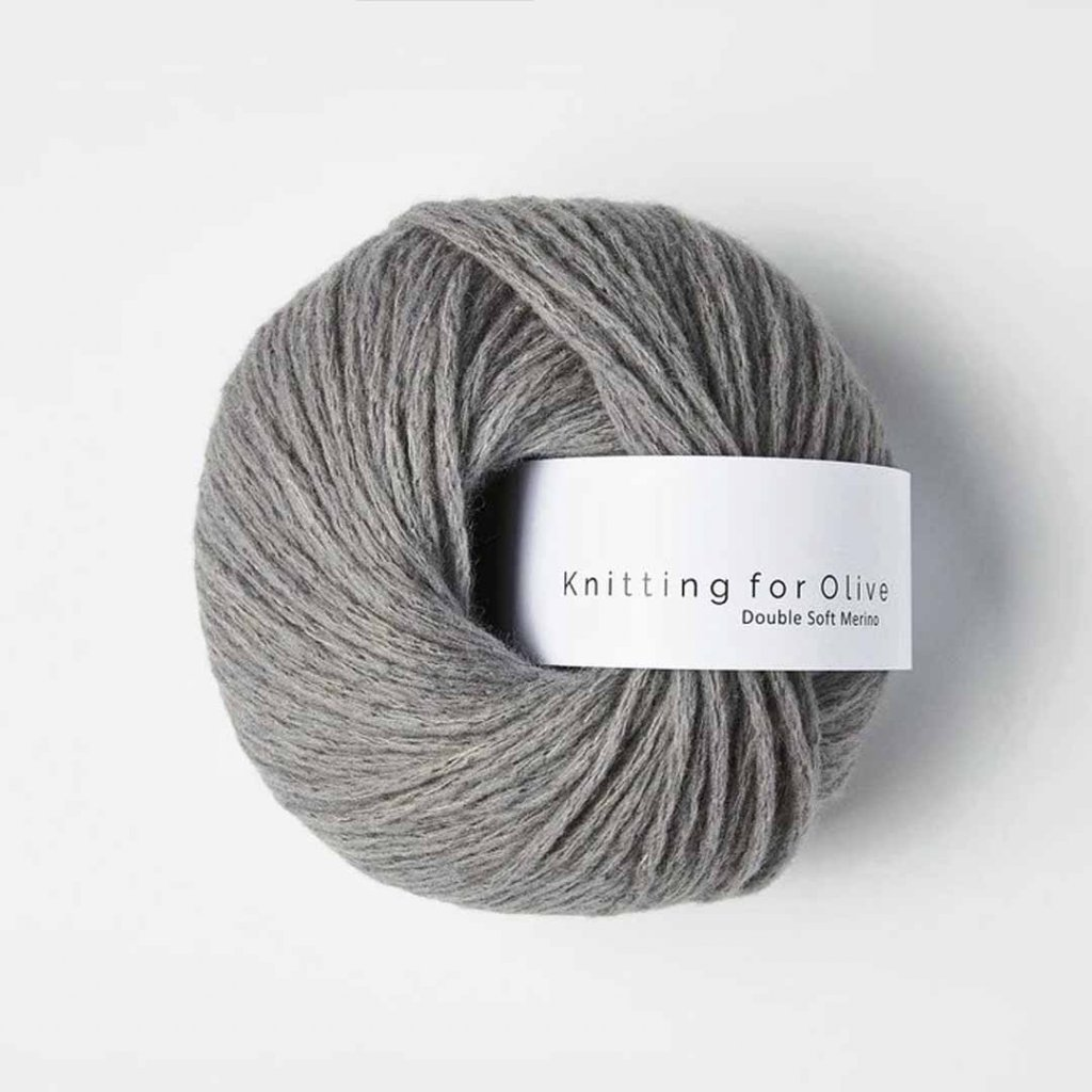 Knitting for Olive Double Soft Merino - Lead