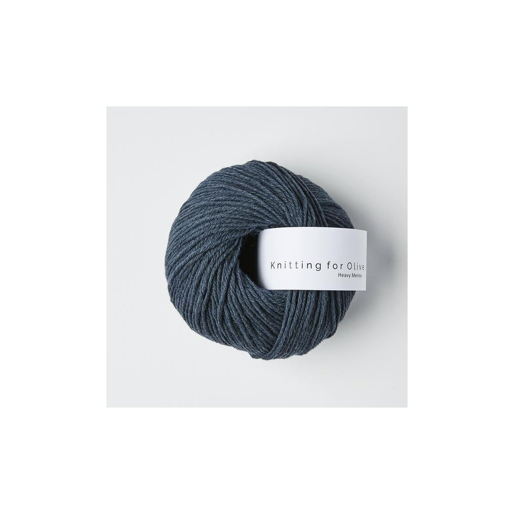 Knitting for Olive Heavy Merino - Deep Petroleum Blue