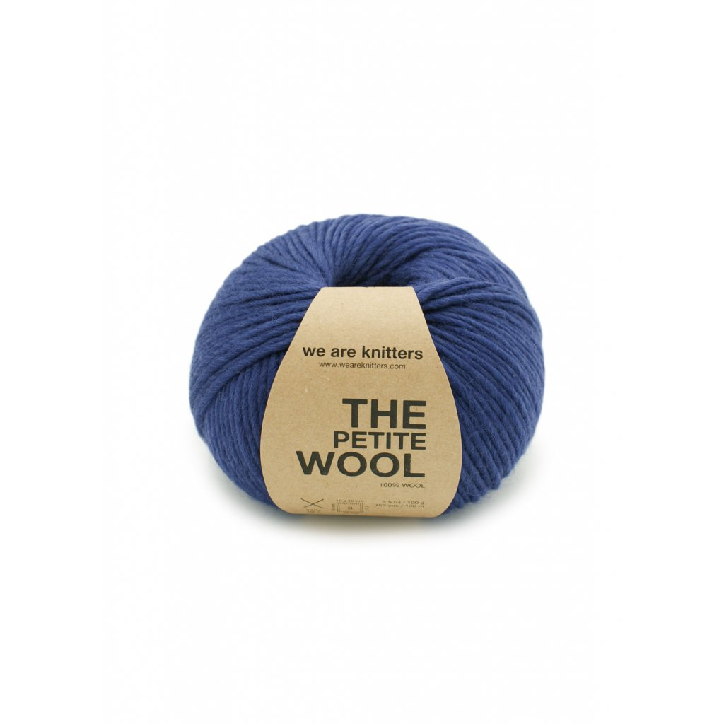 skein petite wool knitting blue rey en 01 1