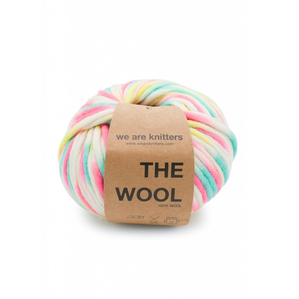 skeins knitting wool marshmallow neon en 01
