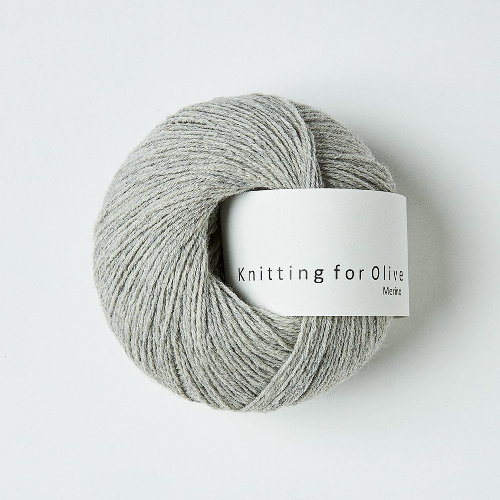Knitting for Olive Merino - Pearl gray