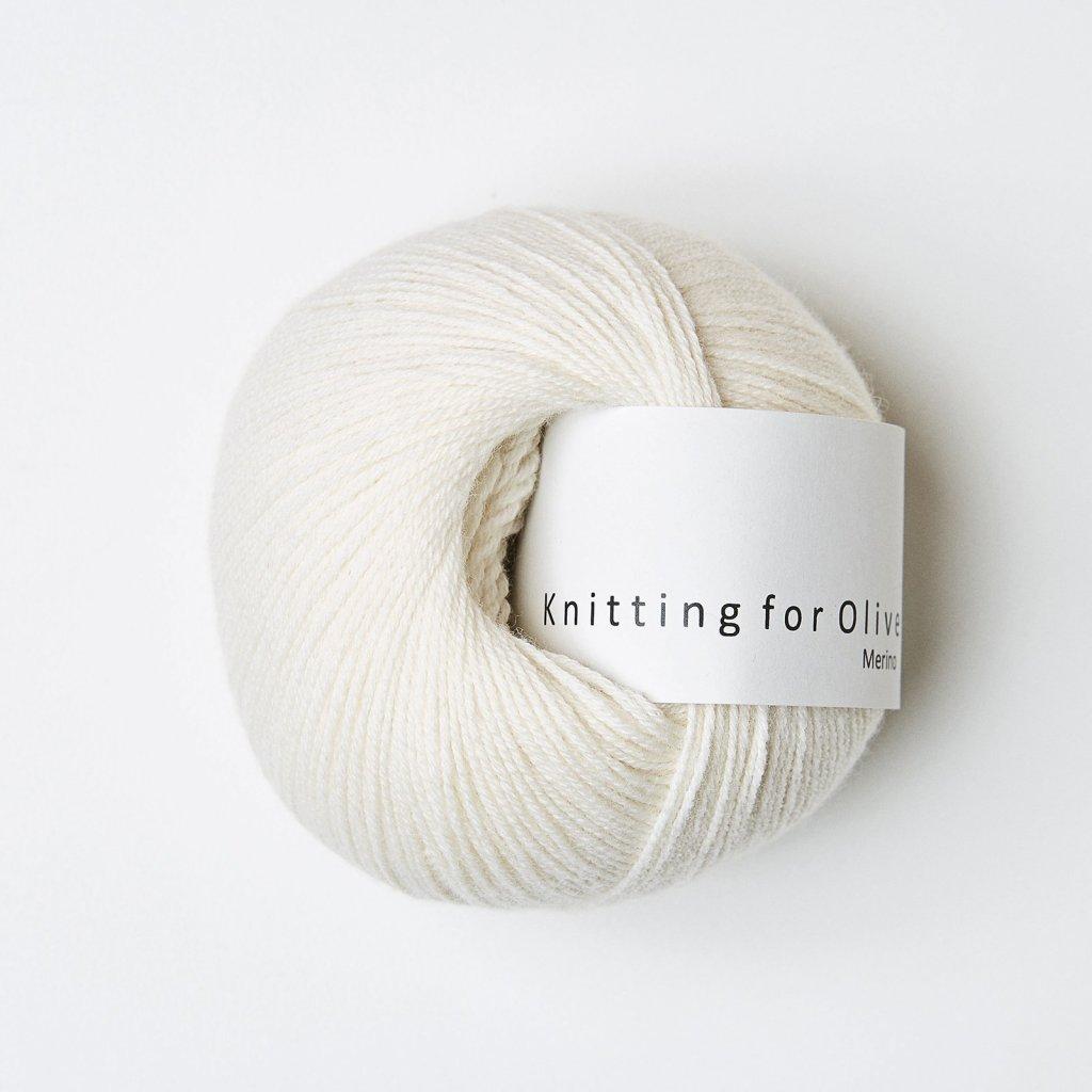 Knitting for Olive Merino - Natural white