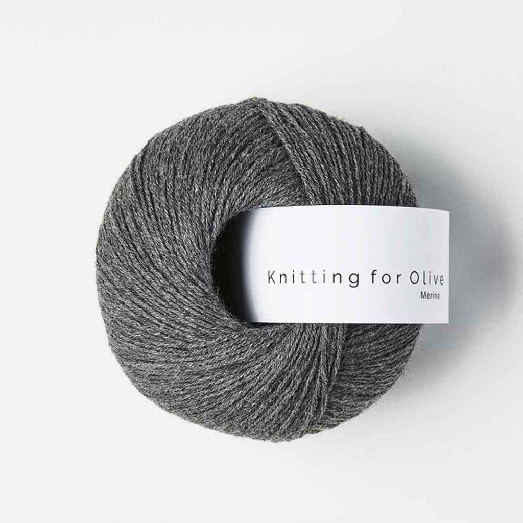 Knitting for Olive Merino - Racoon
