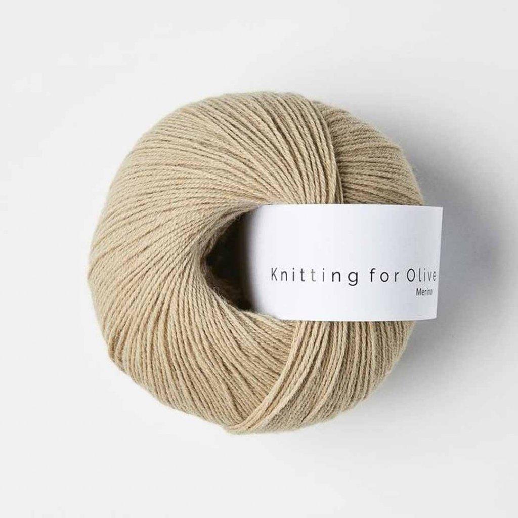 Knitting for Olive Merino - Sand