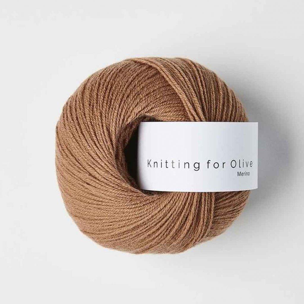 Knitting for Olive Merino - Brown nougat