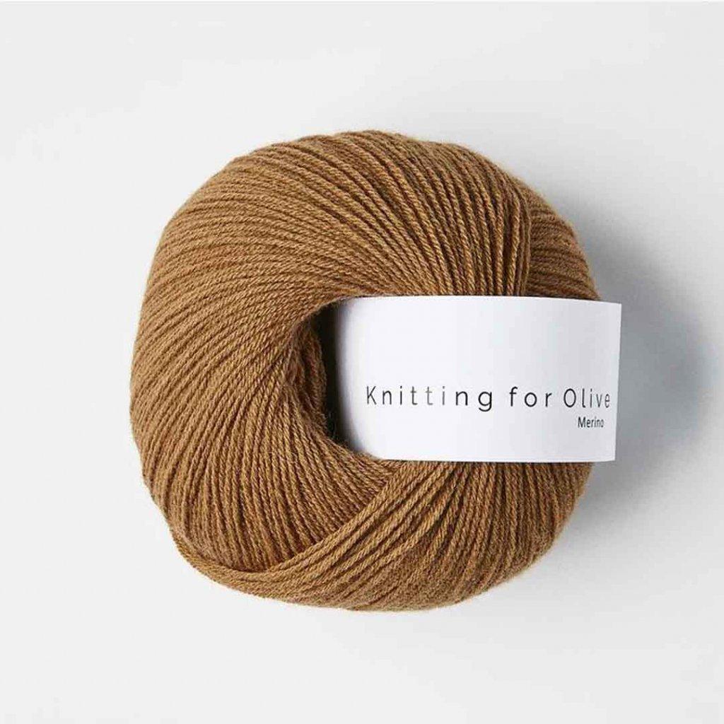 Knitting for Olive Merino - Caramel