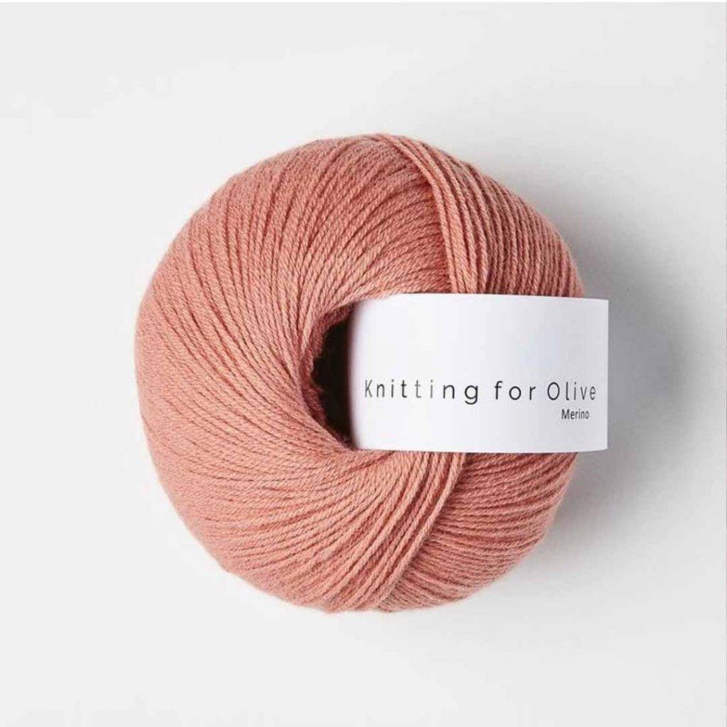 Knitting for Olive Merino - Flamingo