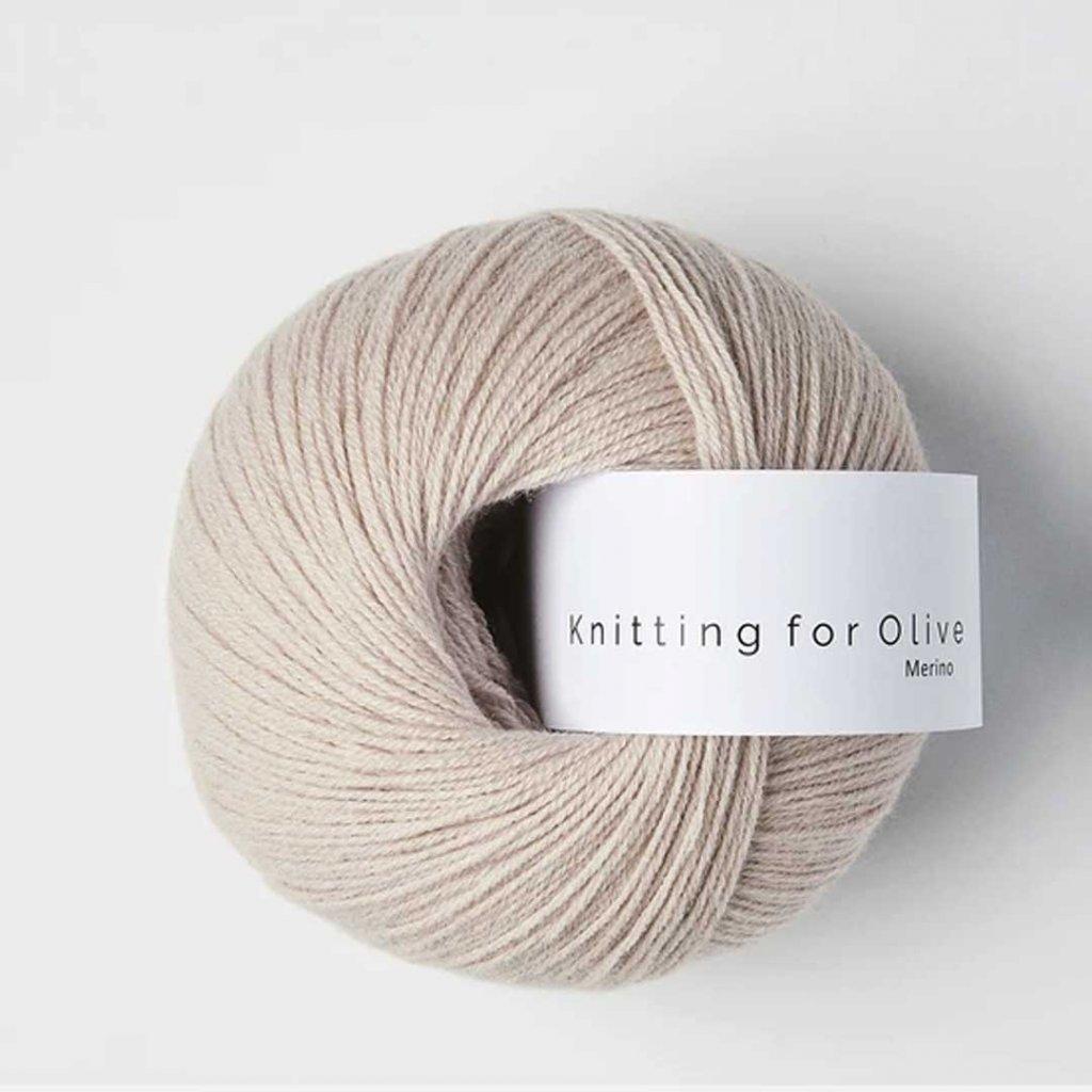 Knitting for Olive Merino - Soft rose