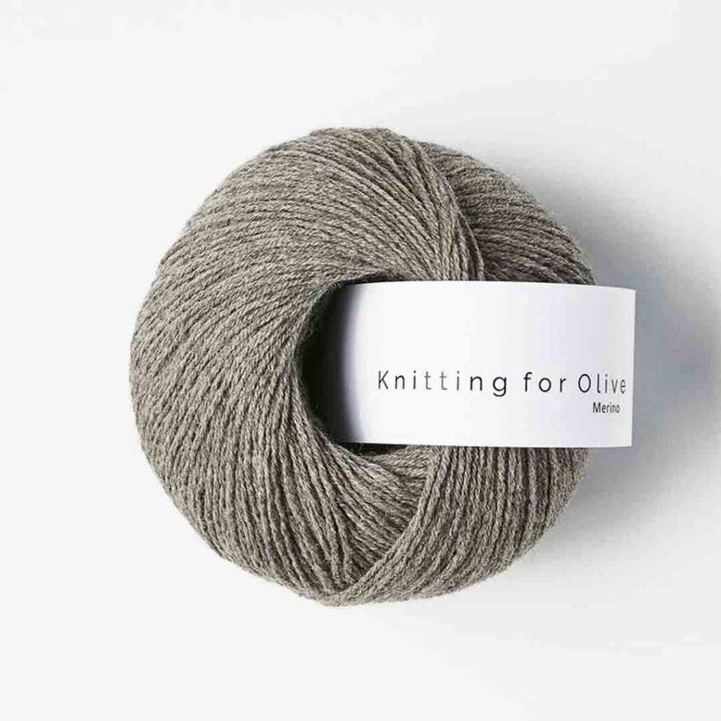 Knitting for Olive Merino - Dusty moose