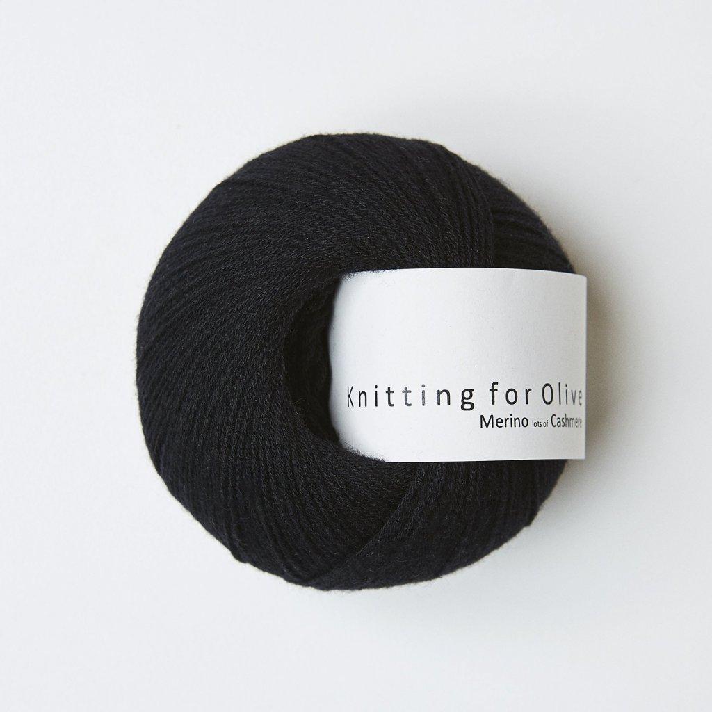 Knitting for Olive Merino - Licorice