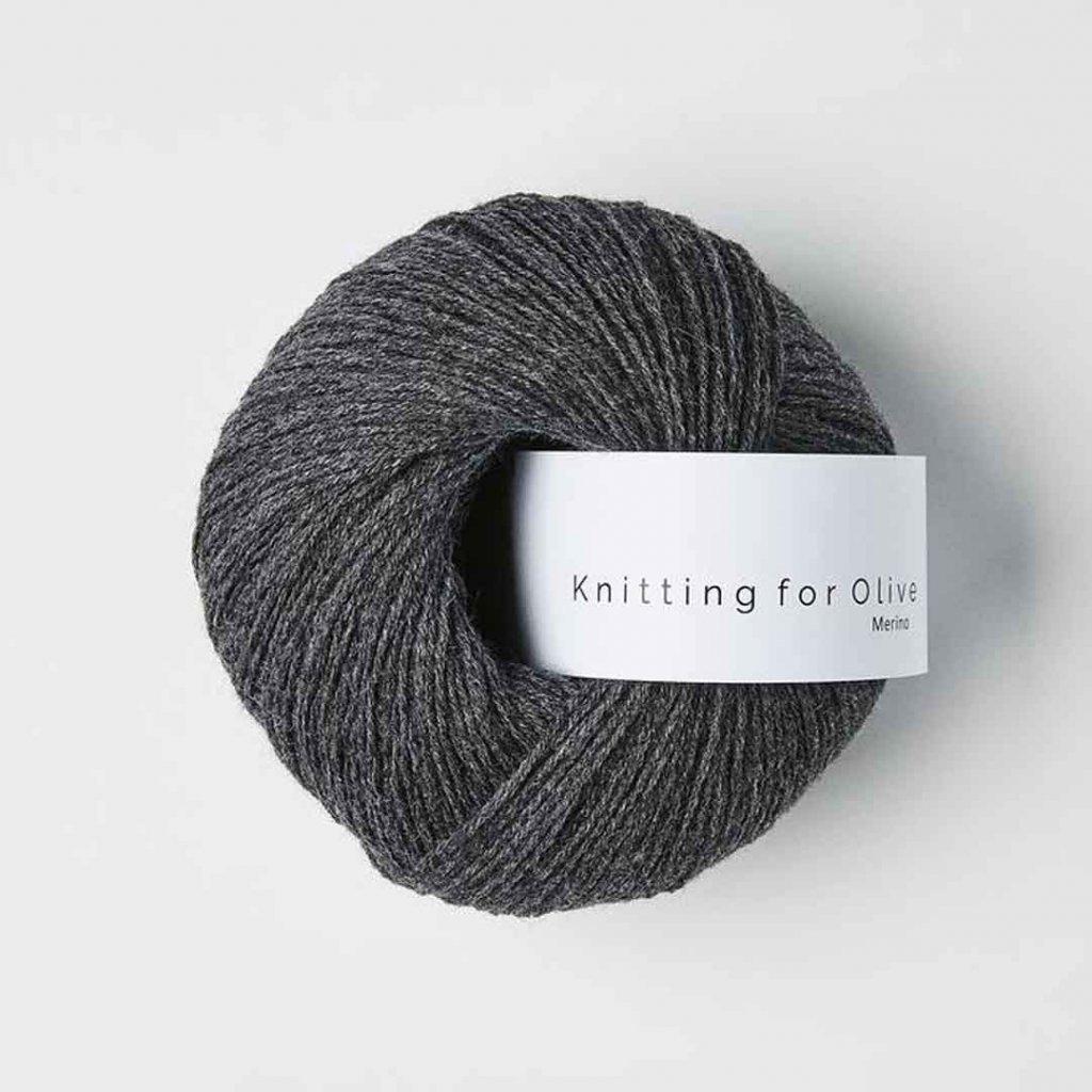 Knitting for Olive Merino - Slate gray