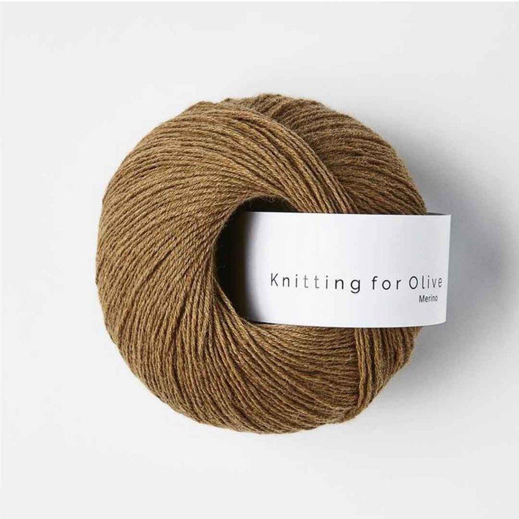 Knitting for Olive Merino - Nut brown