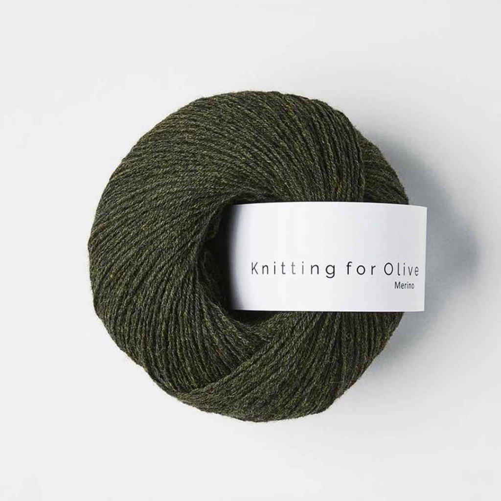 Knitting for Olive Merino - Slate green
