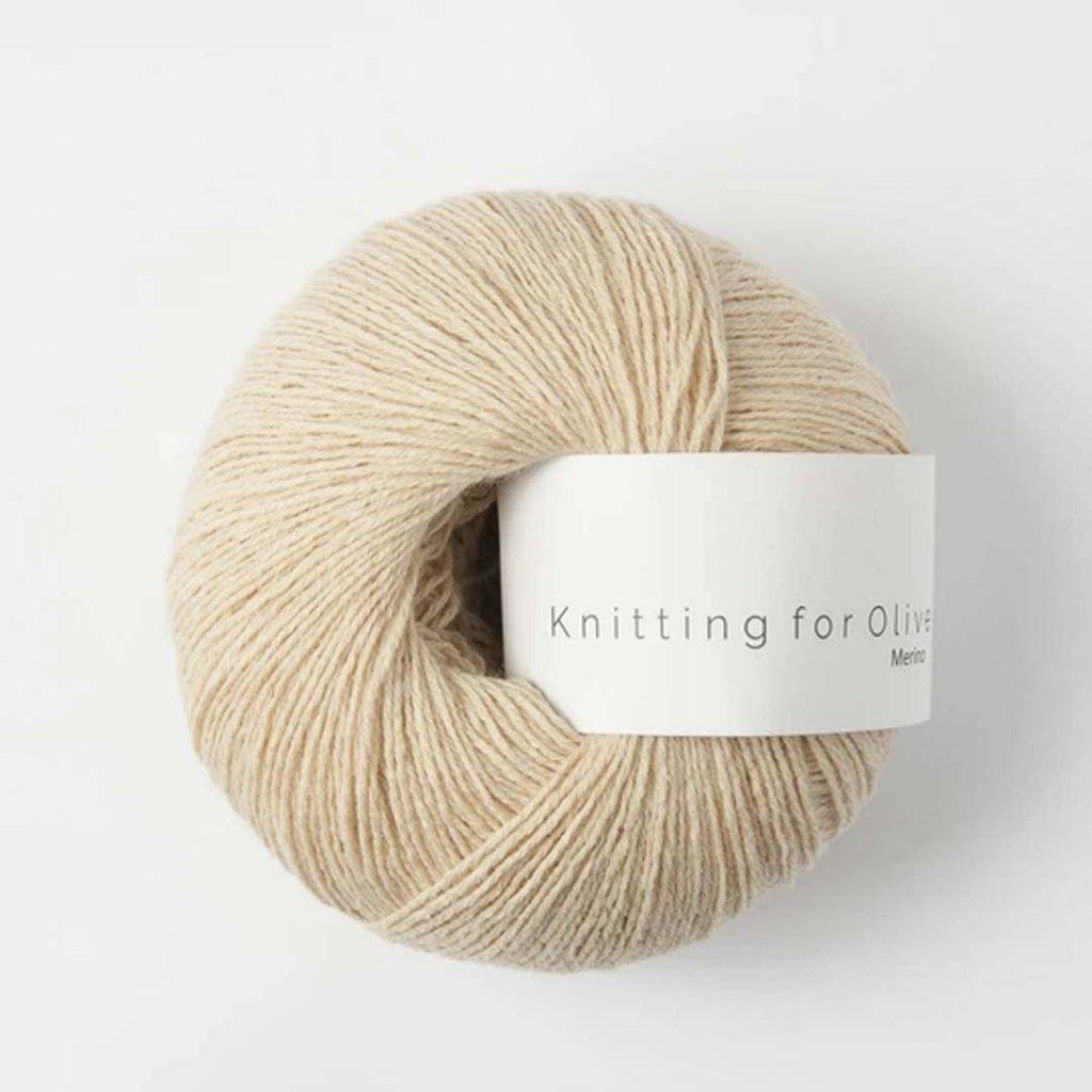 Knitting for Olive Merino - Soft peach