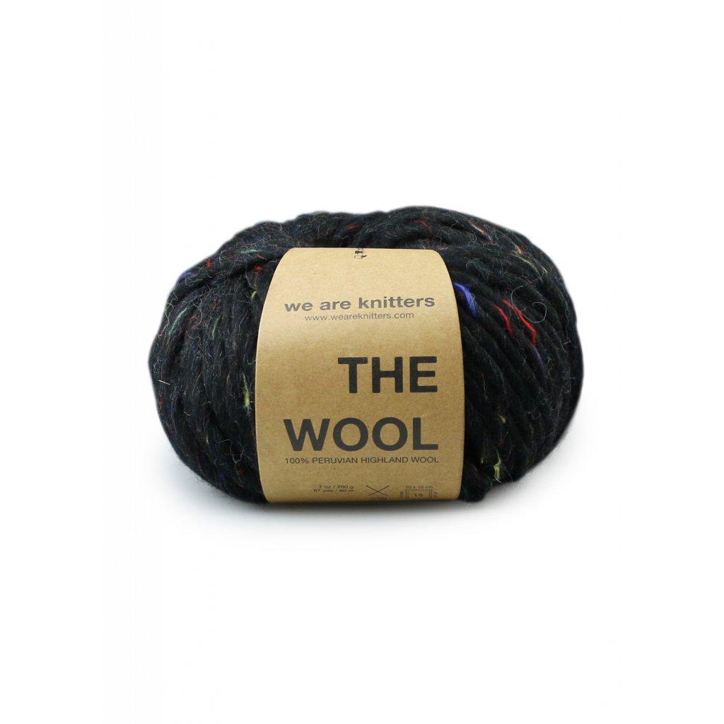 skeins wool black tweed en 01