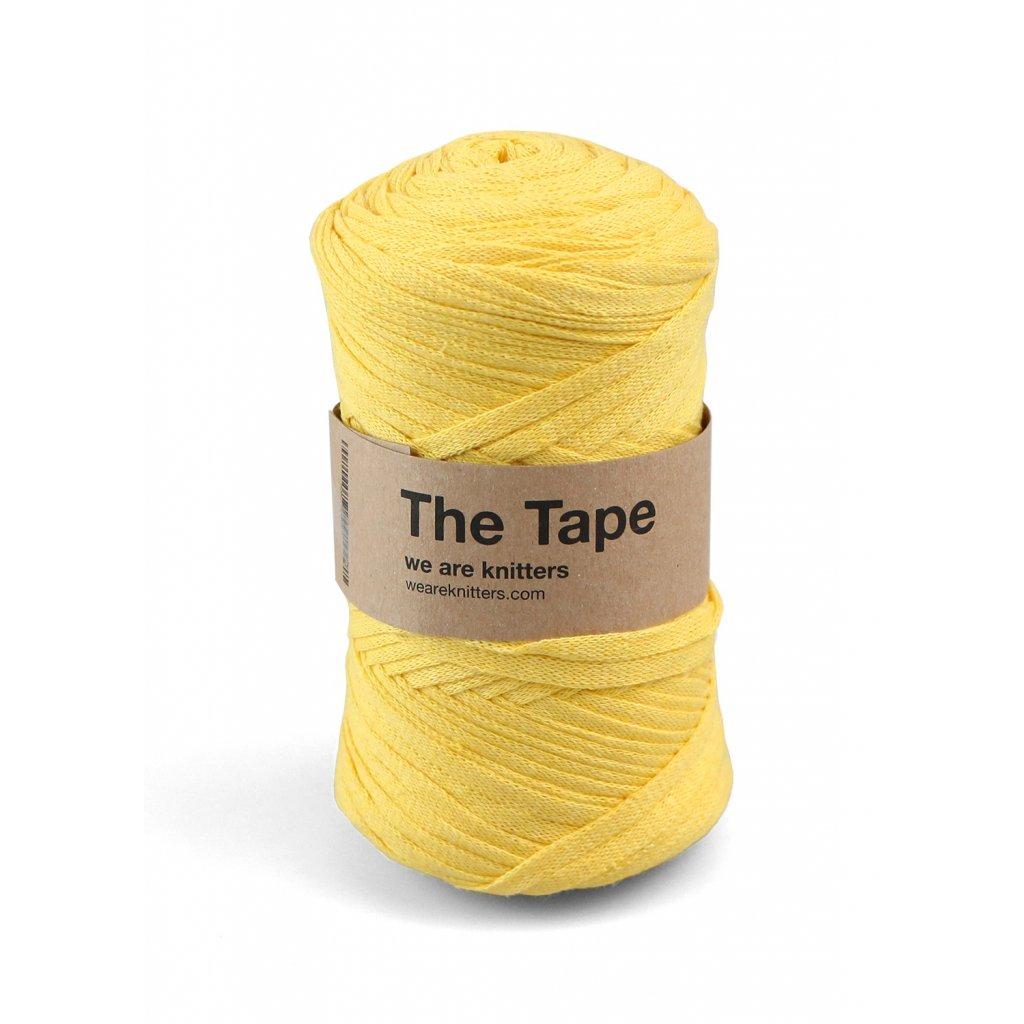 knitting skeins tape yellow 01