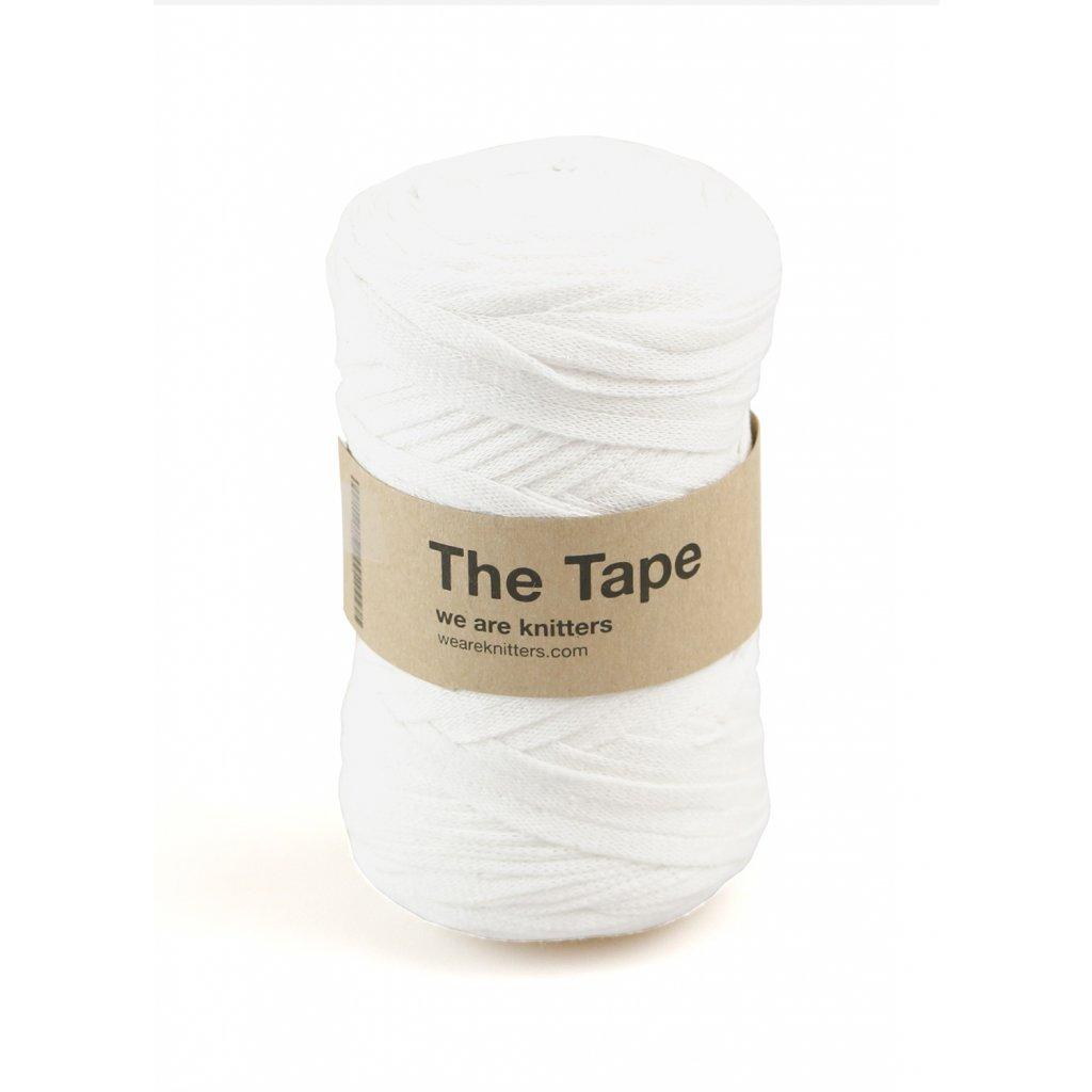 knitting skeins tape white 01