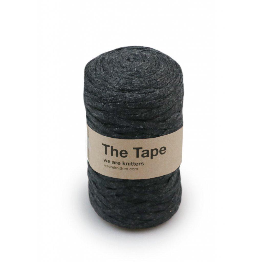 skein knitting tape Dark Grey EN 01