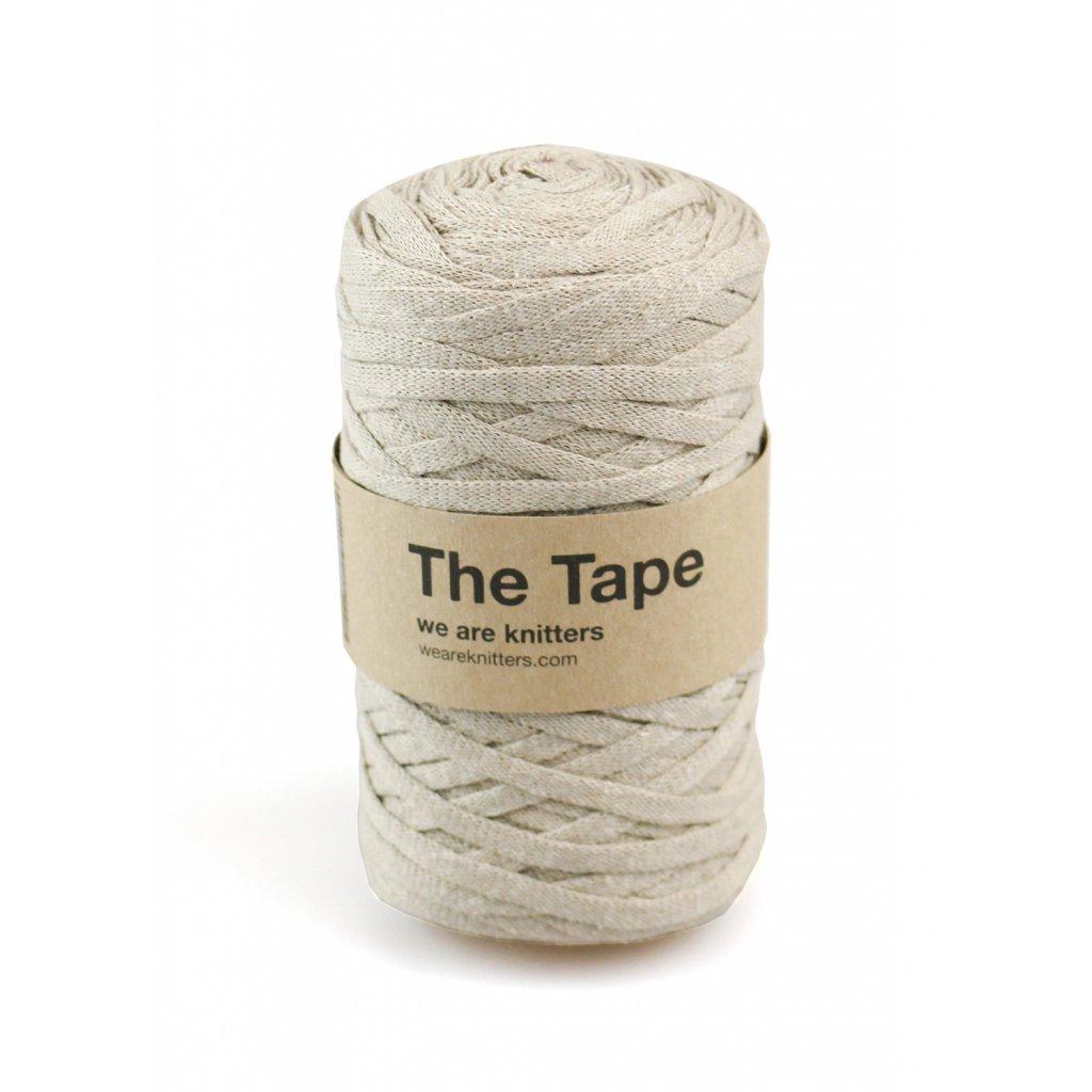 knitting skeins tape beige 01