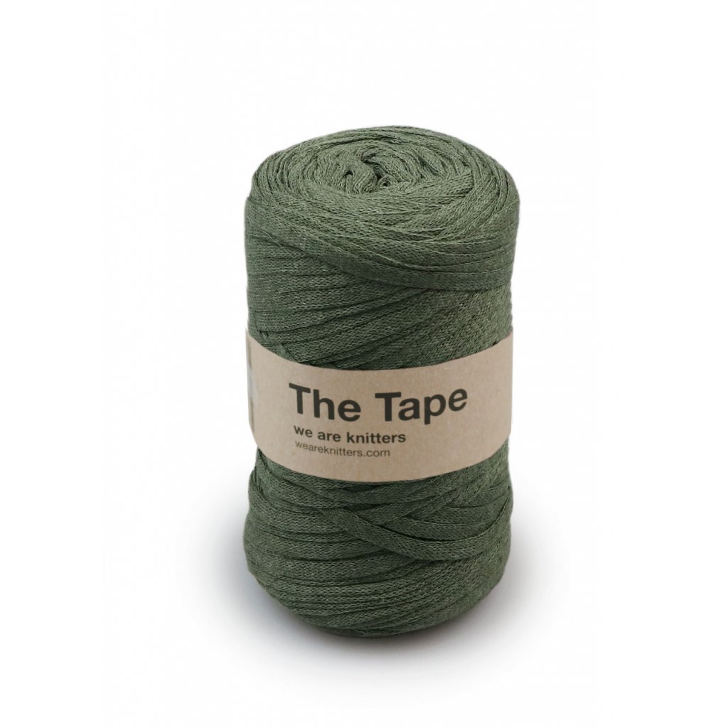 skein knitting tape Olive EN 01
