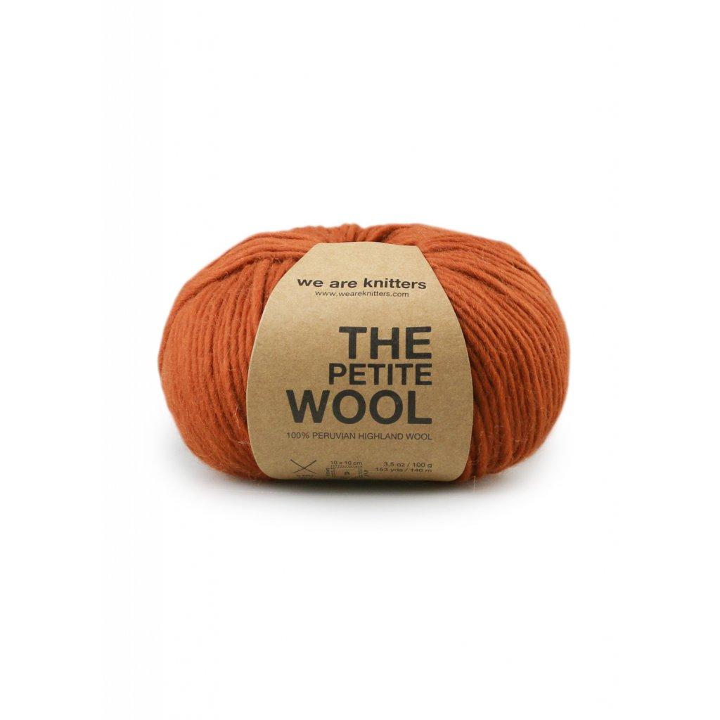 skeins petite wool cinnamon en 01