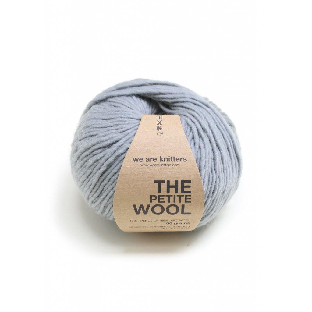 EN petite wool yarn balls knitting grey 1 WAK PET 1516 0